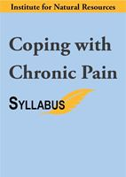Picture of Coping with Chronic Pain - Syllabus ONLY