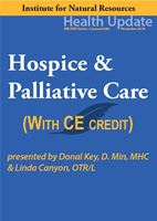 Picture of Hospice & Palliative Care - streaming video (w/Home-study exam)
