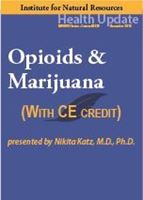 Picture of Opioids & Marijuana - Streaming Video (w/Home-study exam)