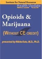 Picture of Opioids & Marijuana - Streaming Video only