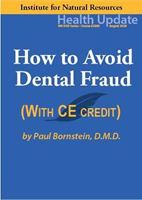 Picture of Dental Series: #2 How to Avoid Dental Fraud - Streaming Video (w/Home-study Exam)