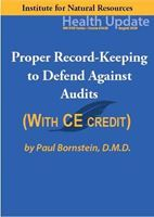 Picture of Dental Series: #5 Proper Record-Keeping to Defend Against Audits - Streaming Video (w/Home-study Exam)