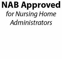 Picture for category NAB Approved for Nursing Home Administrators
